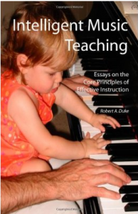 Intelligent Music Instruction by Robert A. Duke